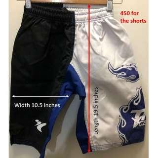 Taekwondo shorts size 5