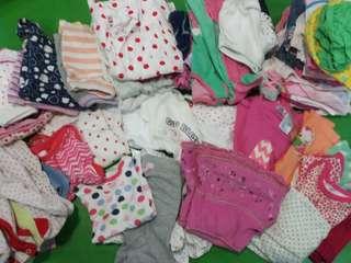 Baby Girl Clothes Bundle (6M- 12M)