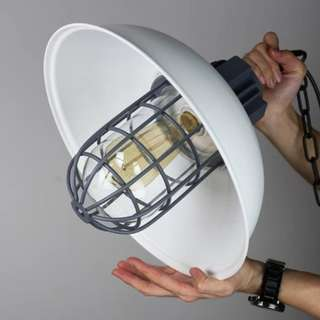 Single Hanging Lamp ( Industrial Theme)