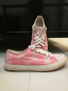 Lacoste pink sneakers