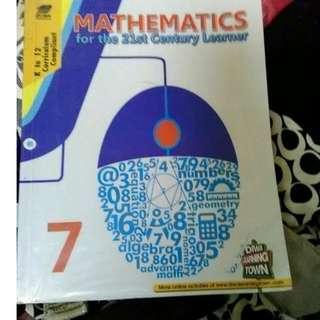 Math book  grade 7
