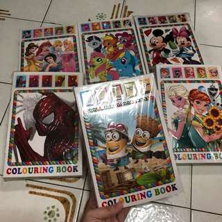 【NEW】 CHILDREN 3D COLOURING BOOK