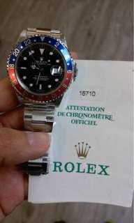 二手 Rolex 16710 百事圈