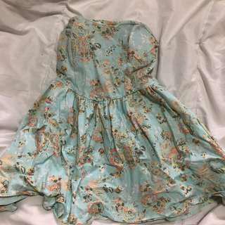 Floral Dress with padding