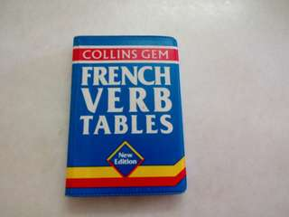 French Verbs & Tabkes Free Poslaju