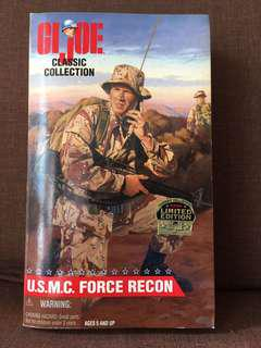 1990s G.I. Joe Classic Collection Action Figure - USMC Force Recon