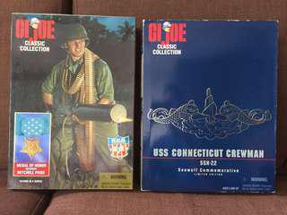 1990's G.I. Joe Classic Collection - Mitchell Paige & USS Connecticut Crewman