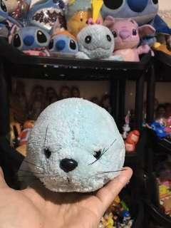 Blue seal plush