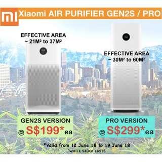 Rdy Stock Air purifier Xiaomi 2S / Pro latest model