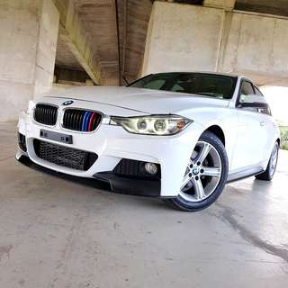 2012 BMW 328i M performance套件 未領牌