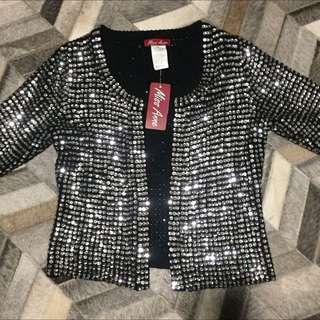 Brand New Sparkly Sequin Cardigan Jacket