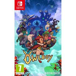 [NEW NOT USED] SWITCH Owlboy Nintendo Soedesco Action Games