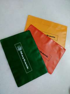 Vintage FD Plastic Pocket File 3 pcs free post