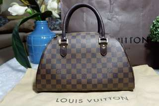 Authentic Louis Vuitton Damier Ebene Ribera MM