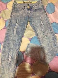 Crissa Low-Waist Skinny Jeans (size 26)