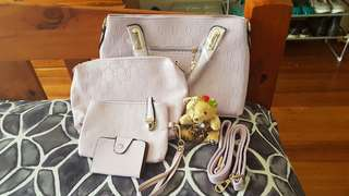 4 Pc Handbag Set