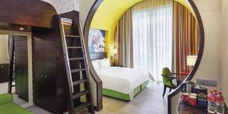 1 night 24-25/6 RWS Festive hotel deluxe family king room