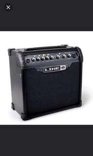 Line 6 guitar amp 15 watts