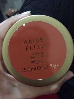 Amber Elixir Perfumed Body Cream