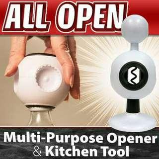 ALL OPEN (MULTI-PURPOSE OPENER 8 IN 1)