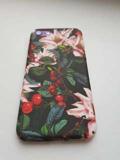 Floral Fitted iPhone Case (6/6s/6+/6s+/7/7+/8/8+)