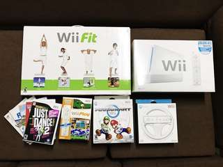 REPRICED! Wii Fit / Wii Sports / Wii Wheel Nintendo