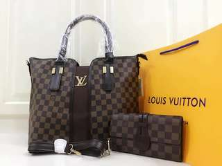Lv bag and wallet