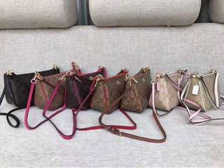 Authentic Overruns Coach Sling Bag