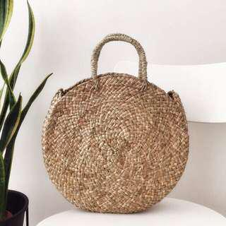 🚚 [IN-STOCK] Mia Round Summer Straw Bag