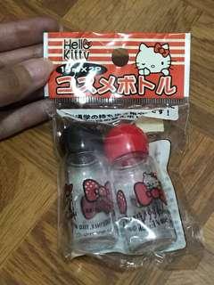 Original Hello Kitty shampoo, conditioner or liquid soap bottles