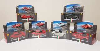 SALE!!! Collector's item: 2009 Shell® Ferrari collection (6 designs)