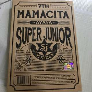 Super Junior Mamacita SJ 七輯 韓版 淨專