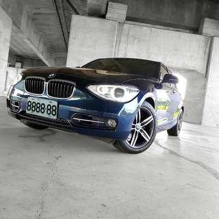 2012 BMW F20 118sport line 實跑4萬