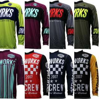 Dirtworks 2018 New Collection MTB Jersey