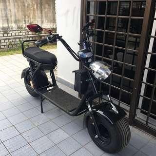 60V 1000W Big Harley Scooter