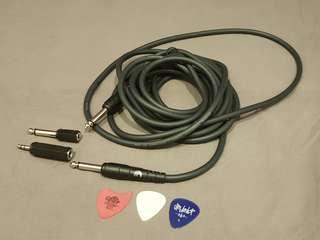 D'Addario guitar cable 15 feet