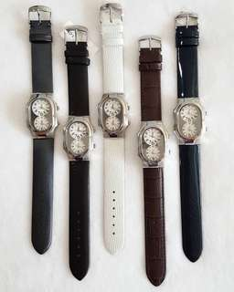 Philip Stein Small Face Dual Time