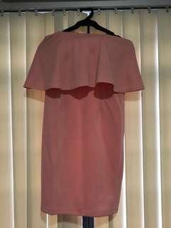 Pastel Pink Tube Dress