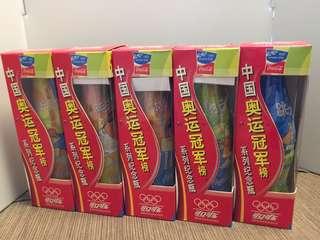 可口可樂~中國奧運冠軍榜包膠紀念版