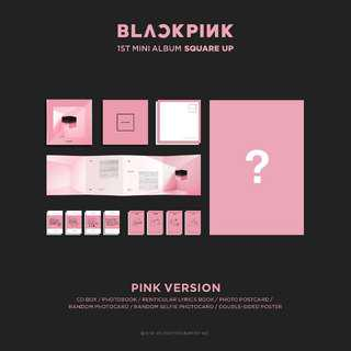 [NON PROFIT] BLACKPINK 1st mini album - SQUARE UP