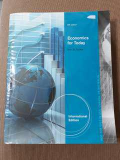 Selling Economics for today 8th edition
