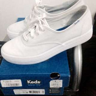 Repriced!! Original Keds Triple White Sneakers
