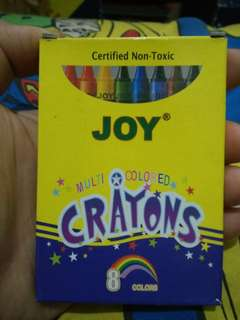 8 Colors Crayons