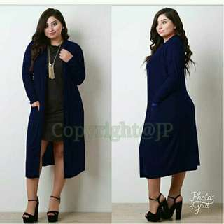 Plus size Cardigan with Pockets