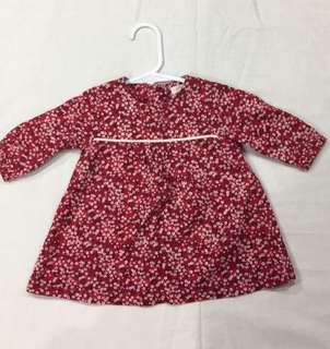 (000) Pure baby floral dress