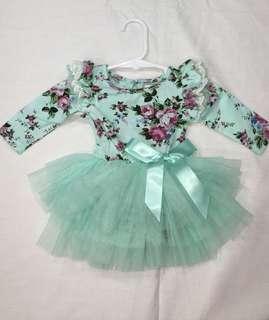 (000) Floral tutu dress
