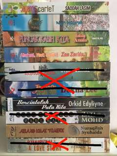 Preloved Malay Novel with Free Gift & Delivery