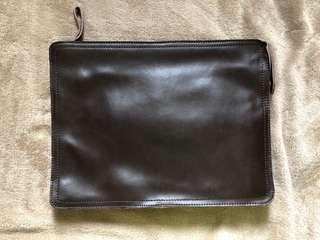 Men Clutch 輕便手提包-(Leather, 多格,實用,方便)