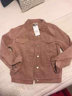 Luck and Trouble Musk Pink Cord Corduroy Jacket