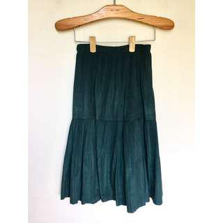所有商品皆可議價‼️ 穿過一次 墨綠色過膝半裙